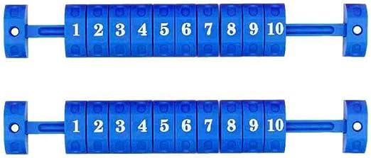 2 Piezas Scoreboard Marcador de puntuación y Tiempo Tablero de ...