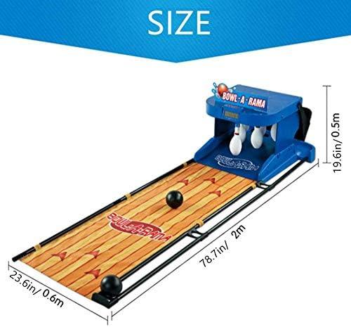 Electronic Kegelbaan Spel, Kinderen Bowling Game Outdoor Party Toy Automatische Scoring Eenvoudig Te Opvouwbare Indoor Family Game Installeren