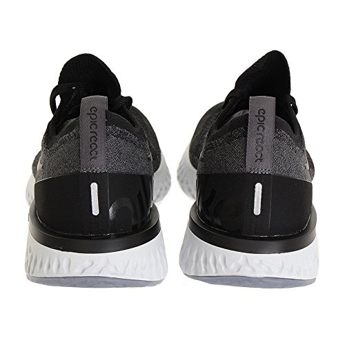 black Grey 001 Chaussures Platinum Multicolore Homme dark Flyknit pure Running De React Epic Nike black Awxgzqaq
