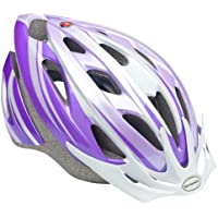 Schwinn Lightweight Microshell Design Thrasher Bike Helme (Purple / White)