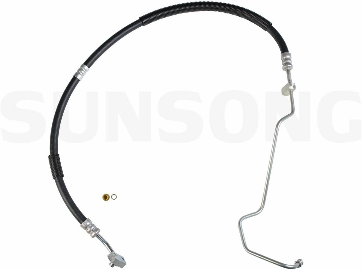 Sunsong 3401295 Power Steering Pressure Line Hose Assembly