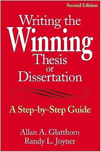 Writing a dissertation for dummies xp