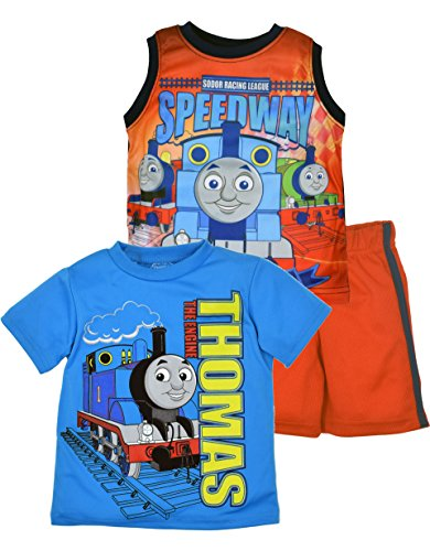 Thomas the Train and Friends Tee Shirt, Tank Top and Shorts Set (Train Apparel)