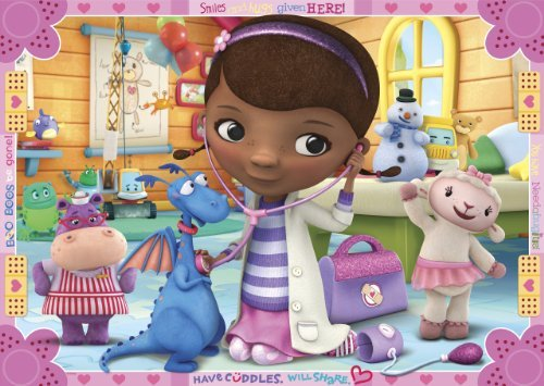 Doc Mcstuffins Have Cuddles Edible Cake Topper Frosting 1/4 Sheet Birthday Party]()
