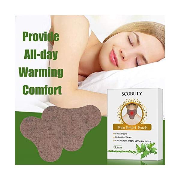 Cerotto Termico,Cerotto Cervicale,Cerotti anti dolore,Patch Antidolorifico per schiena, spalle, collo, addome 5 spesavip