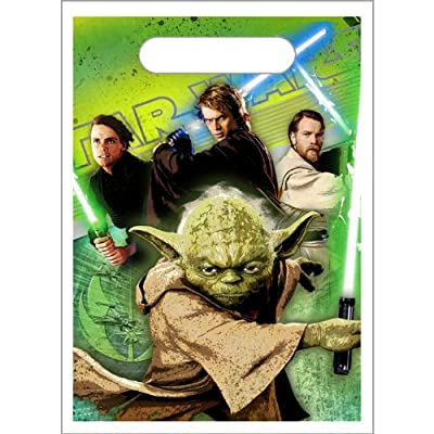Star Wars Party Goody Bags - Star Wars Treat Sacks - 8 Count