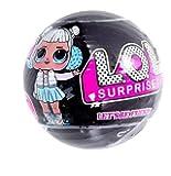 Lol surprise glitter black  series