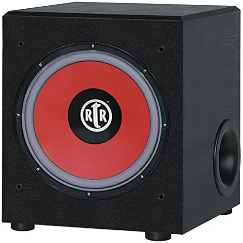 BIC AMERICA Eviction Series RTR-EV1200 12-Inch 475-Watt Front-Firing Subwoofer by BIC