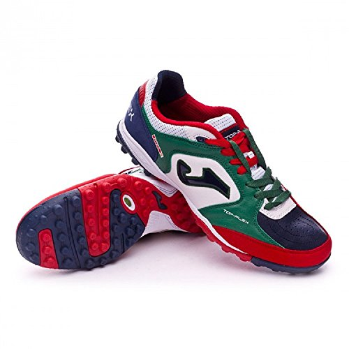 TURF da TF WHITE 726 TOPW FLEX JOMA uomo 726 TOP GREEN calcetto Scarpe outdoor fXTwF