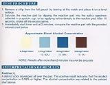 10 One Step Alcohol Saliva Test Strip Pack by DMI
