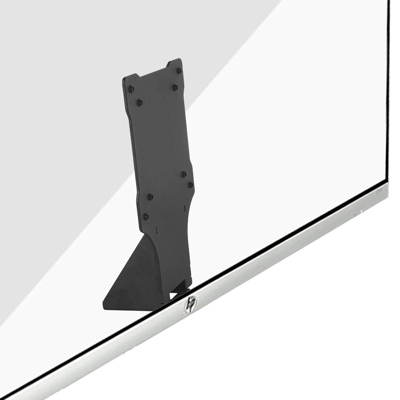 VESA Mount Adapter Bracket for HP 27er, 27es, 27ea, 25er, 24ea, 23es, and 22er Display Monitors Patent Pending by WALI (VHP02), Black