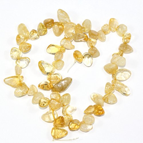 (AAA Natural Citrine Gemstones Smooth Teardrop Loose Beads Free-form ~18x10mm beads ( ~16