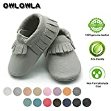 Owlowla Baby Soft Sole Leather Crib Shoes Infant