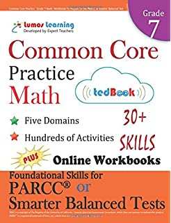 Common core practice grade 8 math workbooks to prepare for the common core practice grade 7 math workbooks to prepare for the parcc or smarter fandeluxe Images