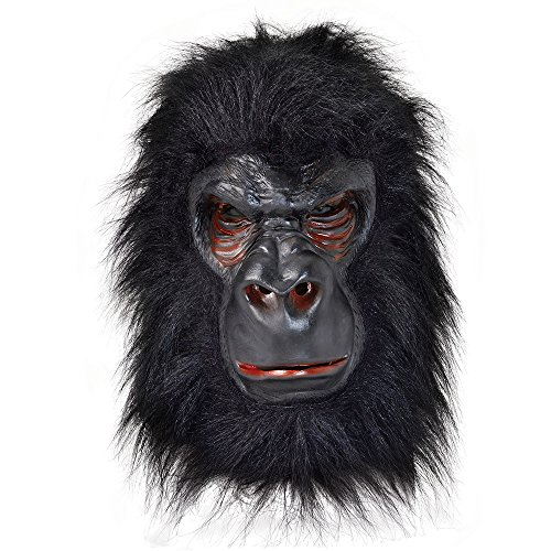 Bristol Novelty Gorilla Latex Mask, One Size