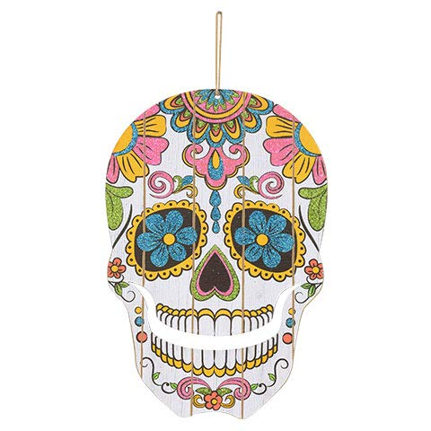 ML Warehouse Halloween Decoration & Craft Collection 2018 (Die-Cut Day Of The Dead Skull Decorations) ()