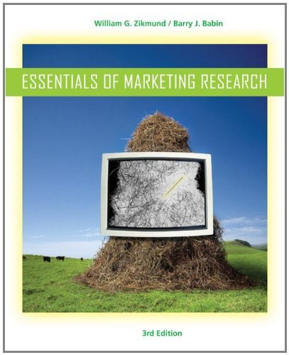 Read Online Essentials of Marketing Research: 3rd (Third) edition pdf