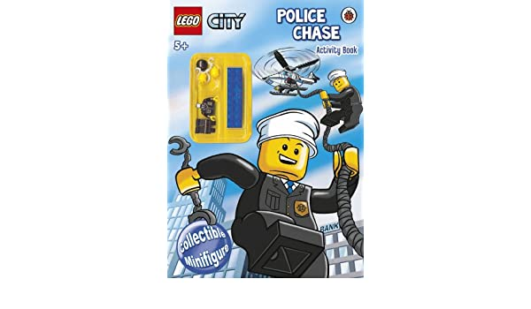LEGO CITY: Police Chase Activity Book with LEGO Minifigure ...