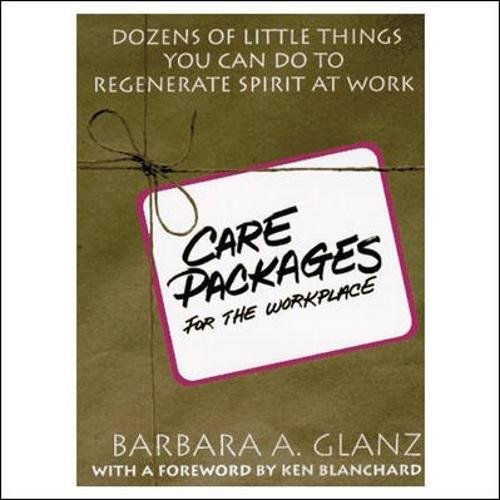 Care Packages for the Workplace: Dozens of Little Things You Can Do To Regenerate Spirit At Work (Work At Spirit)