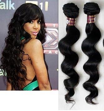 Amazon 5a loose wave virgin brazilian hairweaveextensions 5a loose wave virgin brazilian hairweaveextensions 182022 inches pmusecretfo Image collections