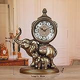 TOYM US European retro clock Creative large silence Decoration Sitting room clock