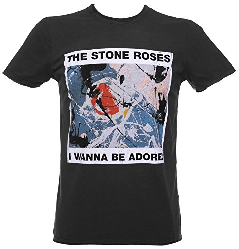The Stone Roses Wanna Be Adored Herren T Shirt von Amplified Schiefergrau