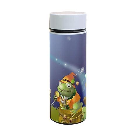 Amazon.com: Music Frog Panda Vacuum Flask Insulated ...