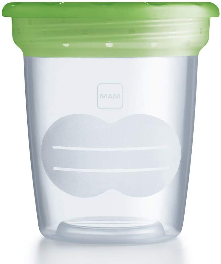 MAM 500400 - Vasetto per la conservazione di alimenti e latte materno,...