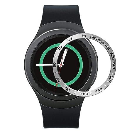 Anillo protector de Smartwatch de bisel de papel de aluminio para ...