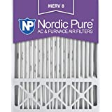 Nordic Pure MERV 8 Honeywell Replacement Air Filter, Box of 1