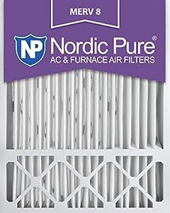 lennox x6673. 20x25x5l1m8-2 lennox x6673 replacement merv 8 ac furnace air filter, qty 2 f
