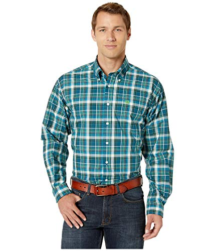 - Cinch Men's Long Sleeve Plaid MTW1104833 Multi Large