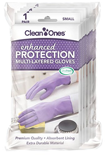 Clean Ones Enhanced Protection Small - 6pr by Clean Ones