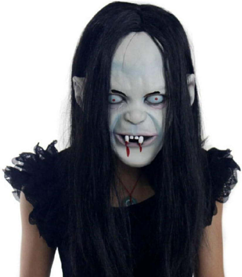 JRKJ Capucha De Látex Halloween Horror Scorpion Masquerade Scary Goblin Mask
