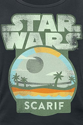 Canottiera Star Wars Rogue Wars - Scarif - nera - cotone - L