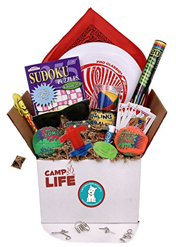 Camp Life - Summer Camp Care Package for Teens, Tweens & Counselors