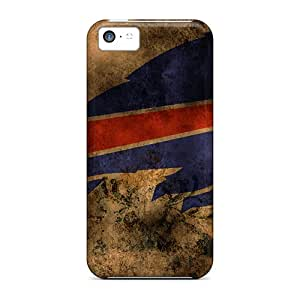 Anti-Scratch Hard Cell-phone Cases For Iphone 5c (fal19337uwgh) Support Personal Customs Stylish Buffalo Bills Pattern