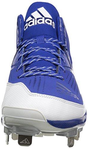 Scarpe Da Uomo Adidas Originali Freak X Carbon Mid College Collegiate Royal / Bianco / Argento Metallizzato