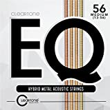 #5: Cleartone EQ Hybrid Metal Acoustic Guitar Strings 13-56 Guage 7813