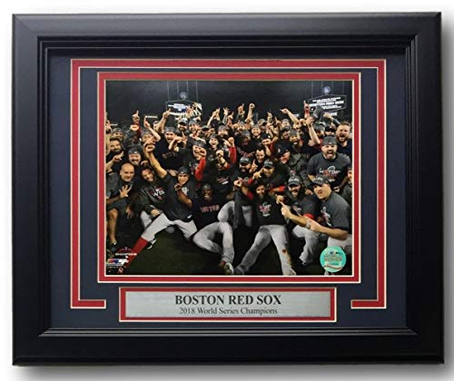 Boston Red Sox Framed 2018 World Series Champions Team 8x10 Photo