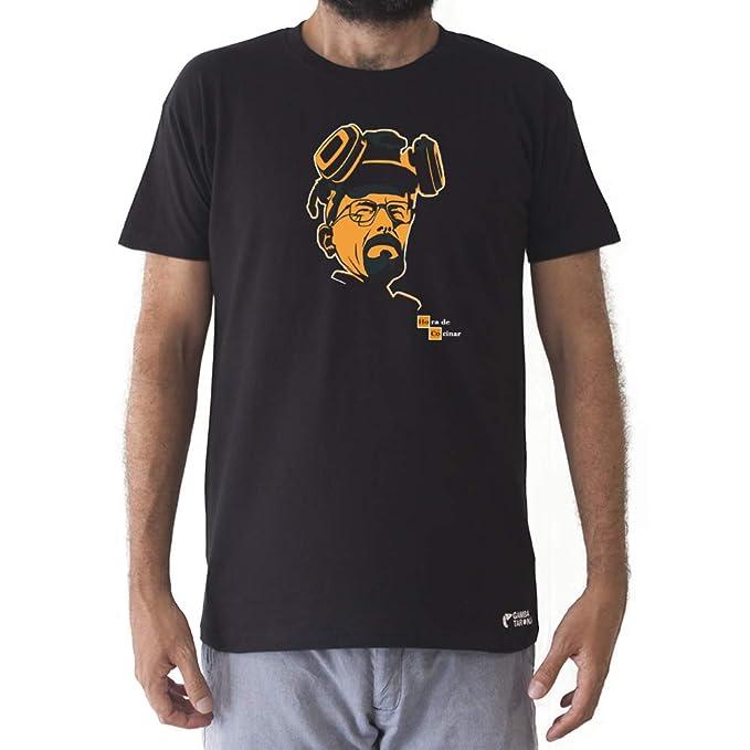 GAMBA TARONJA Hora DE COCINAR - Camiseta - Breaking Bad - Walter White