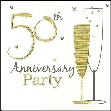 Biglietto 50 Anniversario Matrimonio.Per Celebrare Il 50 Anniversario Di Matrimonio