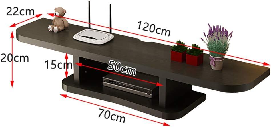 SLMY - Mueble de Pared para televisor sin Costuras y sin Perforaciones, Apto para salón, Dormitorio, partición, Caja de Almacenamiento, Aleación, A, Large 0.00watts: Amazon.es: Hogar