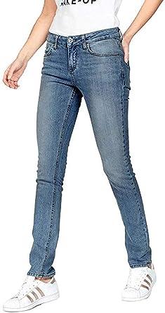 Jeans pour Femmes en Usé ' Aspen Y en Bleu Clair: