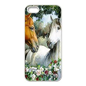 GGMMXO Horse Shell Phone Case For iPhone 5,5S [Pattern-1]