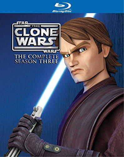 Star Wars: The Clone Wars - The Complete Season Three [Blu-ray] [2011] [Region - Wars Ray Clone Star Blu Wars