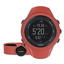 Suunto Ambit3 Sport Coral HR GPS Watches - Red by Suunto
