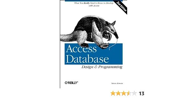 Access Database Design and Programming (Nutshell Handbooks)