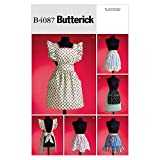 Butterick Patterns B4087 1950S Vintage Aprons, All Sizes