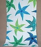ZLJTYN Swimming Towel Bath Fast Drying Adult Beach Sports Towel Hot Water Absorbent Towel Swimming Equipment 150X75Cm,Starfish